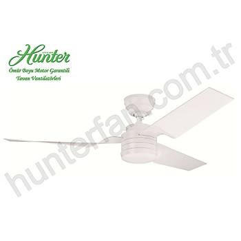 Hunter - Flight Beyaz - 132 Cm. Tavan Vantilatörü