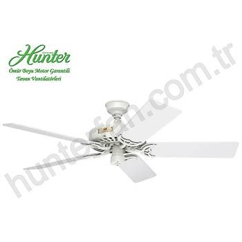 Hunter - Original Beyaz - 132 Cm. Dış Mekan Tavan Vantilatörü