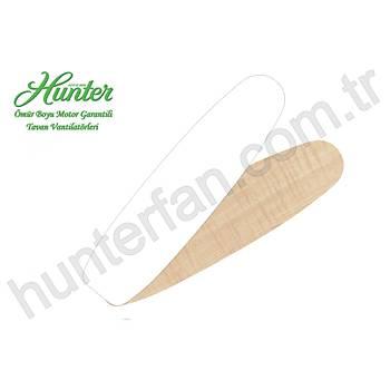 Hunter - Merced Tebeþir Beyazý - 112 Cm. Aydýnlatmalý Tavan Vantilatörü