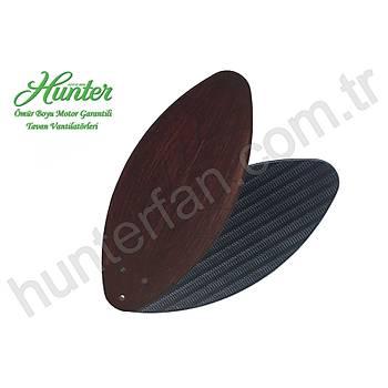 Hunter - Savoy Kehribar Bronz - 137 Cm. Yaprak veya Hasýr Örme Kanatlý Tavan Vantilatörü