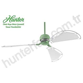 Hunter - Avalon Pastel Yeþil - 158 Cm. Bez Kanatlý Tavan Vantilatörü