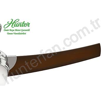 Hunter - Eurus Pastel Mavi - 137 Cm. Aydýnlatmalý Tavan Vantilatörü