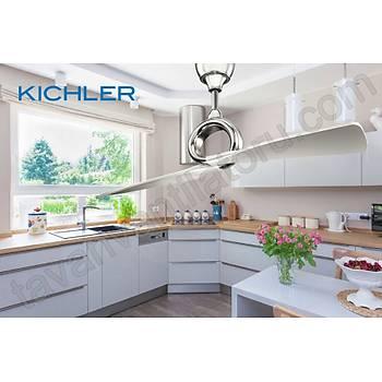 Kichler - Link Fýrçalanmýþ Nikel DC Motor - 137 Cm. Tavan Vantilatörü