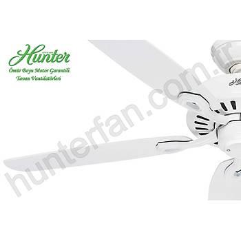 Hunter - Builders Elite Beyaz - 132 Cm.  Tavan Vantilatörü