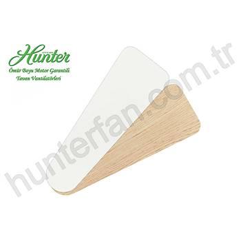 Hunter - Savoy Beyaz - 132 Cm. Beyaz ve Açýk Meþe Kanatlý Tavan Vantilatörü