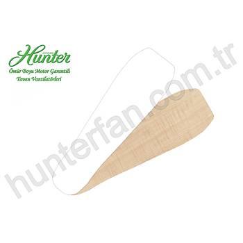 Hunter - Industrie Tebeþir Beyazý - 132 Cm. Tavan Vantilatörü