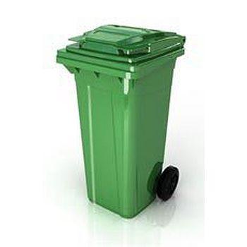 Plastik Çöp Konteyneri  120 Lt