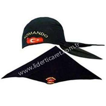 Bandana Siyah Renk Yazýlý
