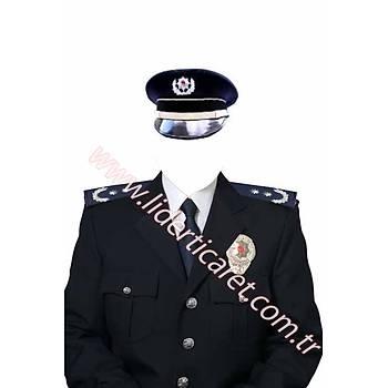 Polis Tören Kiyafeti Amir (Sipariþ Üzerine Özel Dikim Yapýlmaktadýr)