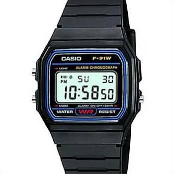 Saat Casio F 91 (Klasik Asker Saati)