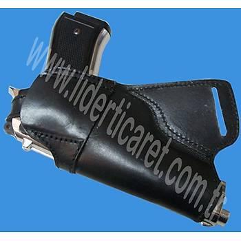 Bel Arkasý CZ 75 - Sarsýlmaz Silah Kýlýfý Siyah Renk