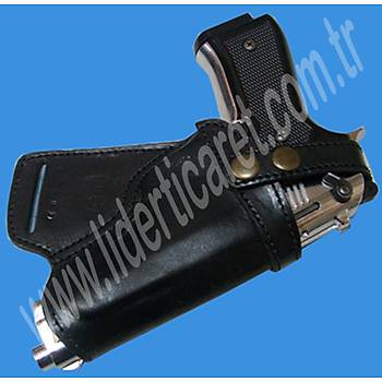 Bel Arkasý CaniK TP-9 Silah Kýlýfý Siyah Renk