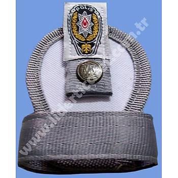 Kelepçe Kýlýfý Spor Ýmperteks Beyaz Renk Polis Armalý