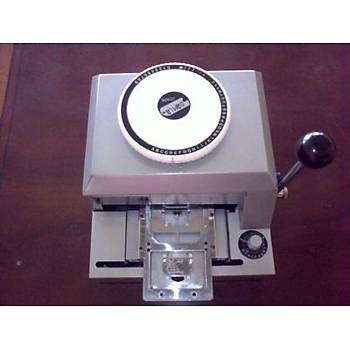 Künye Makinesi Aparatlý (Kabartma Baskýlý) MODEL 1