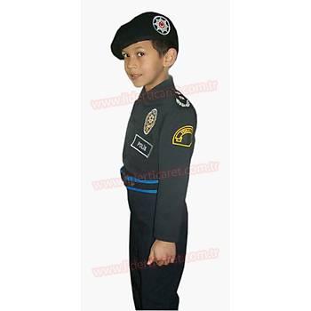 Polis Çocuk Çevik Kuvvet Elbisei/Kiyafeti