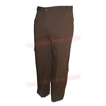 ÇMK Bekçi Pantolonu Kahverengi