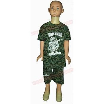 Asker Çocuk Penye Takým Kamuflaj