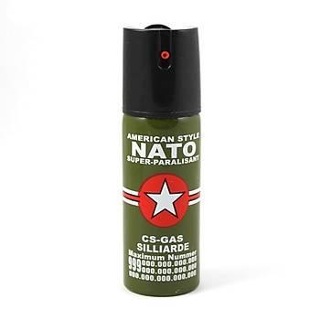 NATO Biber Gazý 40 ml. Kilitli Emniyetli