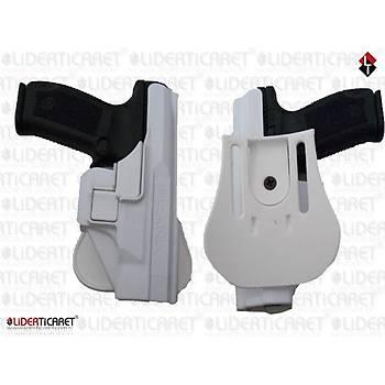 UNICORN Kilitli Silah Kýlýfý  Beyaz Renk Canik 55 TP9