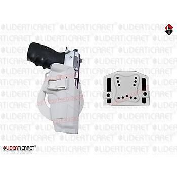 UNICORN Sarsýlmaz Mega/CZ Kilitli Silah Kýlýfý (Kýrýlmaz) Beyaz Renk