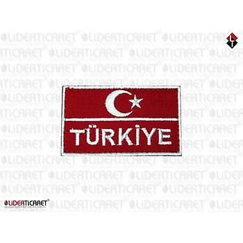 Bayraklý Türkiye Armasý/Peç Cýrtlý