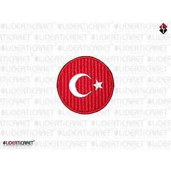 Türkiye Bayraðý Armasý/Peç Cýrtlý Yuvarlak