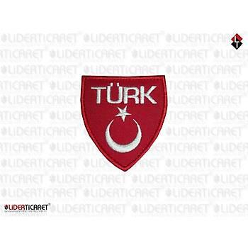 TÜRK Yazýlý Türk Bayraðý Filo ArmaKýrmýzý Renk /Peç Cýrtlý