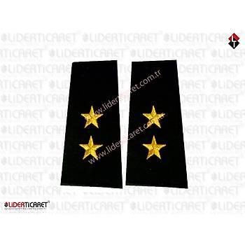 Jandarma Harici Subay Rütbeleri Siyah Renk