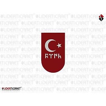 Sticker Þarjör Kapaðý Göktükçe Türk Ayyýldýz (3 Adet )