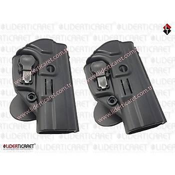 ACAR-AL SAR 9 Kilitli Silah Kýlýfý Siyah Renk