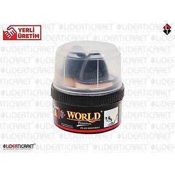Bot Boyasý World Siyah 200 gr.