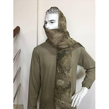 Commando Scarf [ Fileli ] Desert Renk Çöl Dijital Jandarma Ýçin
