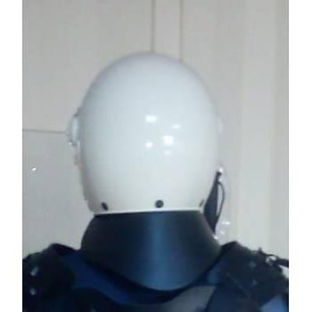 Koruyucu Beyaz Renk Korumalý Koruyucu Kask Robocop Kiyafeti Ýçin