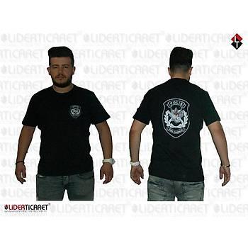 Polis Özel Harekat Tiþörtü Siyah Renk Model 2