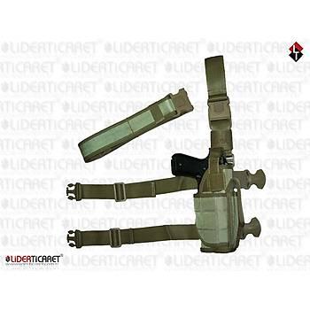 Çöl Rengi Operasyon Taktik Silah Kýlýfý Çok Amaçlý + Palaska Set