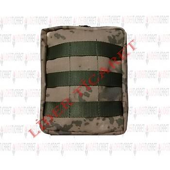 Genel Maksat Cebi Jandarma Kamuflaj Renk