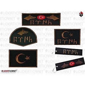 Gök Türkçe Kurt Arma 5'li Set