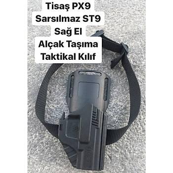 Alçak Taþýma Silah Kýlýfý Siyah Renk Türm Polimer Taktik Kýlýflara Uyumlu