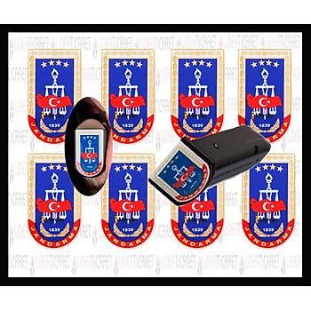 Sticker Þarjör Kapaðý Jandama Armasý ( 3 Adet )