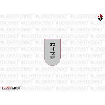 Sticker Þarjör Kapaðý Göktükçe Türk Yazýlý Beyaz Model 2 ( 3 adet )