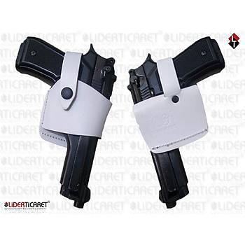 Speed Tabanca Kýlýfý Beyaz renk Tüm 9 mm.Silahlar Ýçin