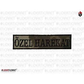 '' ÖZEL HAREKAT '' Bacak Kýlýfý Yazýsý Cýrtlý Yeni Renk