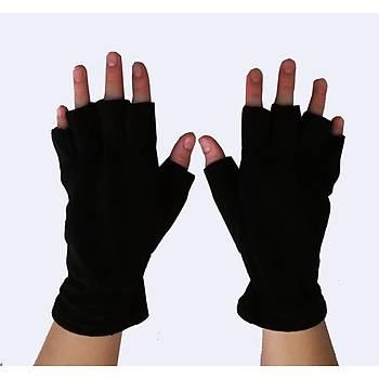 Eldiven Polar Kesik Parmaklý Siyah Renk