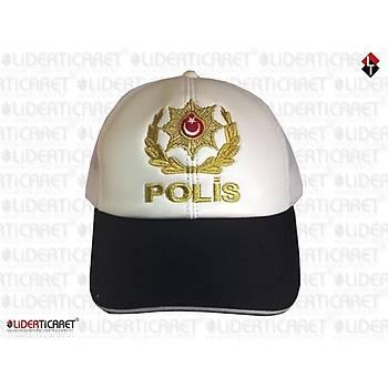 Polis Müdür Trafik Kepi Yazlýk Reflektörlü