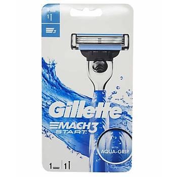 Gillette Mach3 Start Aqua-Grip 2 up Týraþ Makinesi