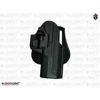 MC 28 SA Modeli UNICORN Kilitli Silah Kýlýfý Siyah Renk