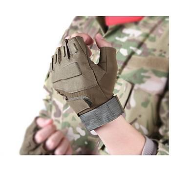 Blackhawk Tactical Kesik Parmak Eldiven Toprak Renk