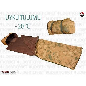 LEADER ARMY  -20 °C Jandarma Kamuflaj Uyku Tulumu