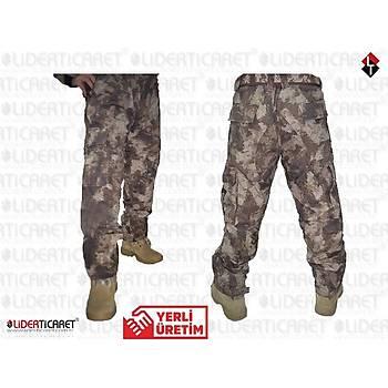 Özel Harekat  Kamuflaj Pantolon Tek Alt Yeni Model