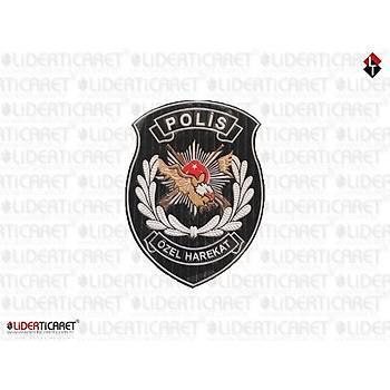 Polis Özel Harekat Armasý Silikon Yapýþkanlý